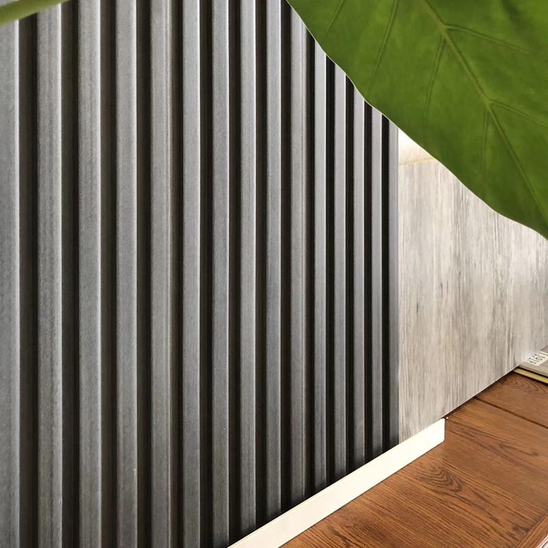 150生态木素板搭配墙板