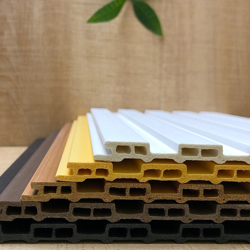 生态木素板背景墙